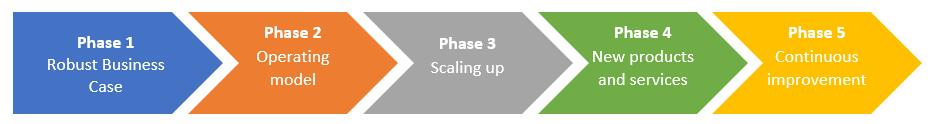 digital metering business phases